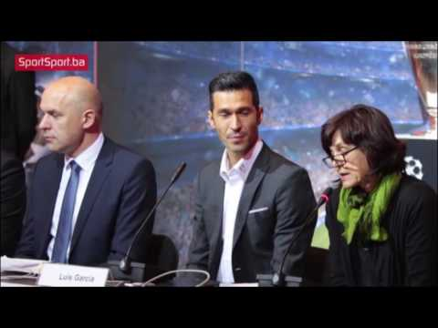 Luis Garcia – UEFA Champions League Trophy Tour 2016