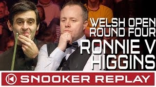 SNOOKER LEGENDS RONNIE O'SULLIVAN V JOHN HIGGINS - WELSH OPEN 2014