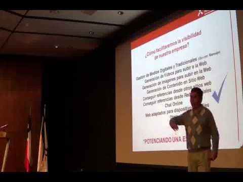 Marcos Clark 1er Seminario de Publicidad y Marketing Digital