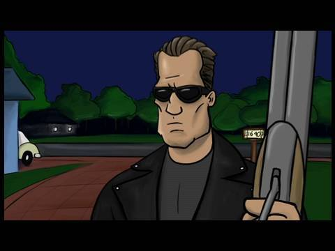 terminator - http://www.howitshouldhaveended.com To Save the Future, the Terminator must go BACK to the future! Watch as we combine two of the most implausible time trave...