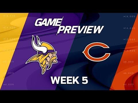 Video: Minnesota Vikings vs. Chicago Bears | Week 5 Game Preview | Total Access
