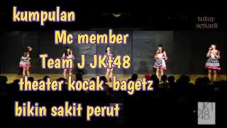 Video #Jkt48 #theaterJkt48 kumpulan Mc member team J jkt48 ngelawak kocak MP3, 3GP, MP4, WEBM, AVI, FLV Januari 2019