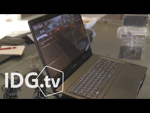 Hands-on with the EVGA SC17 gaming laptop