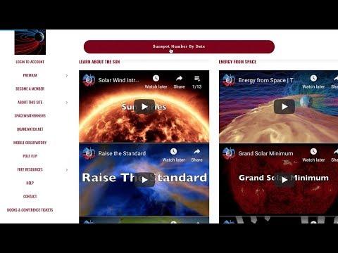 Sunspots Determine Our Lifespan | Where 2 Get Data_A héten feltöltött legjobb nap videók