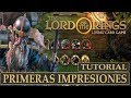 The Lord Of The Rings Lcg pc Primeras Impresiones Tutor