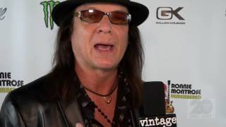 http://www.vintagerock.com - Vintage Rock's Junkman talks with Quiet Riot bassist Chuck Wright on Saturday,, January 21 at the Ronnie Montrose Remembered concert in Santa Ana, CA. Captured and edited by Mike Thoman.