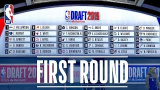 EVERY PICK from the First Round | NBA Draft 2019 by NBA