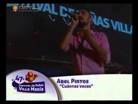 Abel Pintos video Cuántas veces - Villa María 2014