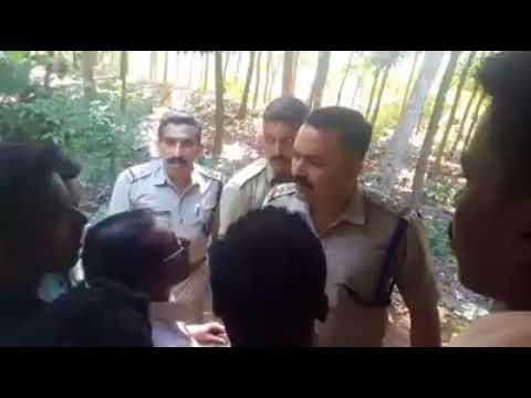 Youth manhandled by the Kerala police