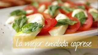 Cómo hacer ensalada caprese