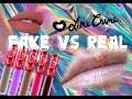 FAKE VS REAL LIME CRIME VELEVETINE | by Ilona