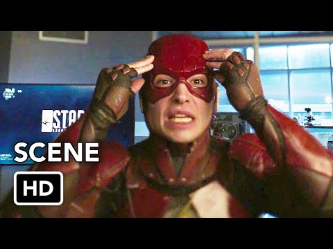 DCTV Crisis on Infinite Earths Crossover - The Flash Ezra Miller Cameo (HD)