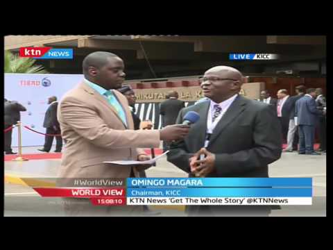 World View 26th August 2016 - TICAD Conference - Interview with Hon Omingo Magara