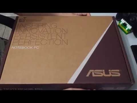 Unboxing - Notebook Asus X450CA