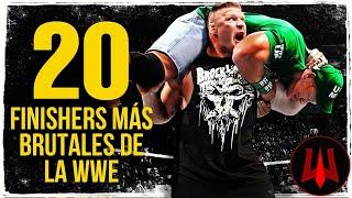 Video LOS 20 FINISHERS MÁS BRUTALES DE LA WWE MP3, 3GP, MP4, WEBM, AVI, FLV Juni 2018
