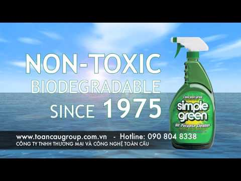 Tẩy rửa an toàn với Simple Green Cleaner_Stop The Toxins
