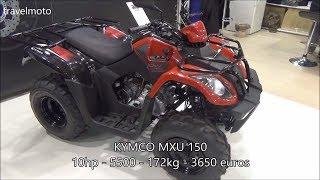 4. The KYMCO MXU 150cc ATV (2017)