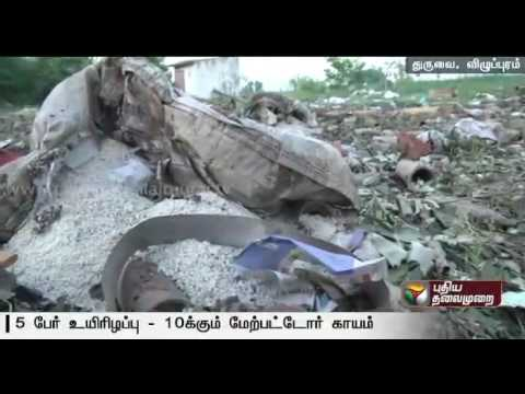 Five-dead-and-many-injured-in-cracker-factory-fire-accident-at-Villupuram
