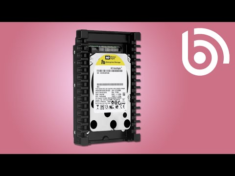 WD WD6000BLHX HDD Video