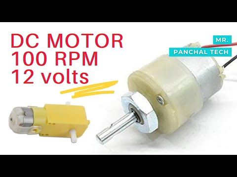UNBOXING OF DC GEARED MOTORS FOR SCIENCE PROJECTS WITH DESCRIPTION by jayan panchal