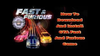 Nonton GTA Fast & And Furious Gameplay,Installation process And Free Download Film Subtitle Indonesia Streaming Movie Download