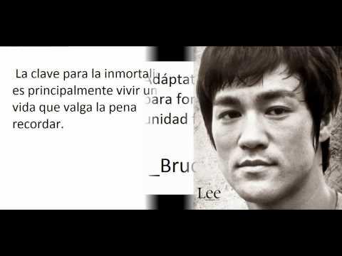 frases inteligentes - Bruce Lee. Sus frases y citas célebres, famosas y motivadoras