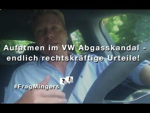 Sensation im VW Abgasskandal - Rechtskräftige Urteile zugunsten von Verbrauchern! #FragMingers