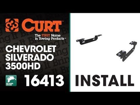 5th Wheel Hitch Install: CURT 16413 Bracket Kit for 2011-2014 GMC / CHEVROLET 2500 & 3500 HD