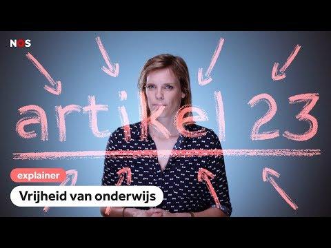 Hoe God de Nederlandse klaslokalen binnenkwam