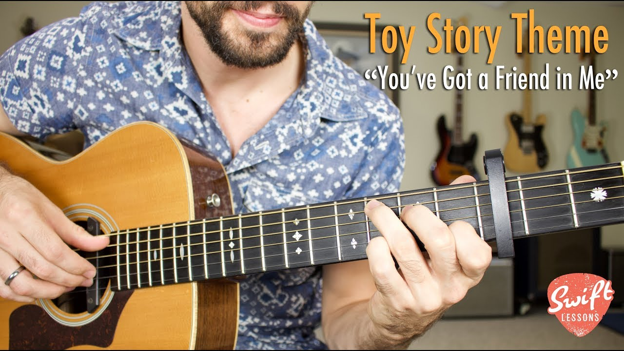 """You've Got a Friend in Me"" Guitar Tutorial – Toy Story Theme – Randy Newman"