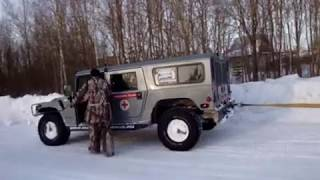 9. Hummer H1 VS Dodge Ram. Part 2