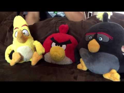 Angry Birds Plush Eagle Sounds