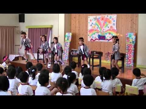 はちまん保育園動画NEWS きく組(5歳児)誕生会にて和太鼓発表!