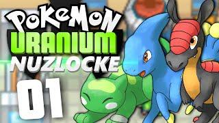 Pokémon Uranium Nuzlocke - Episode 1 | Trouble in Tandor! by Munching Orange