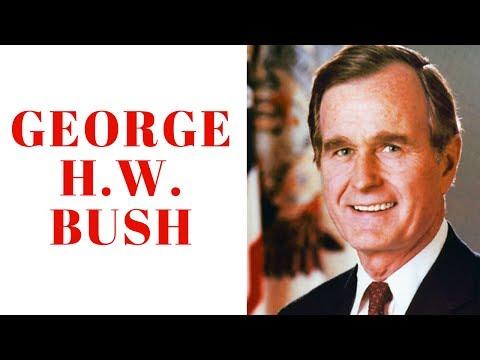 George HW Bush Biography