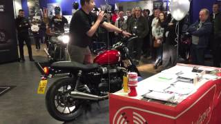 7. Street Twin launch - Herts Triumph - Base Model