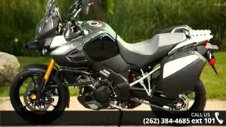 6. 2014 Suzuki V-Strom 1000 ABS Adventure  - Action Power Sp...