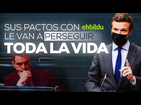 """""""Sr. Sánchez, sus pactos con Bildu le van a perseguir toda la vida"""