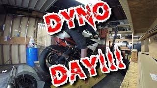 8. 2014 Triumph Daytona 675R DYNO DAY / Sophia Unleashed!!!