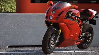 3. Ducati 999 R 2006 - DUCATI - 90th Anniversary - Test Ride Gameplay (PC HD) [1080p60FPS]