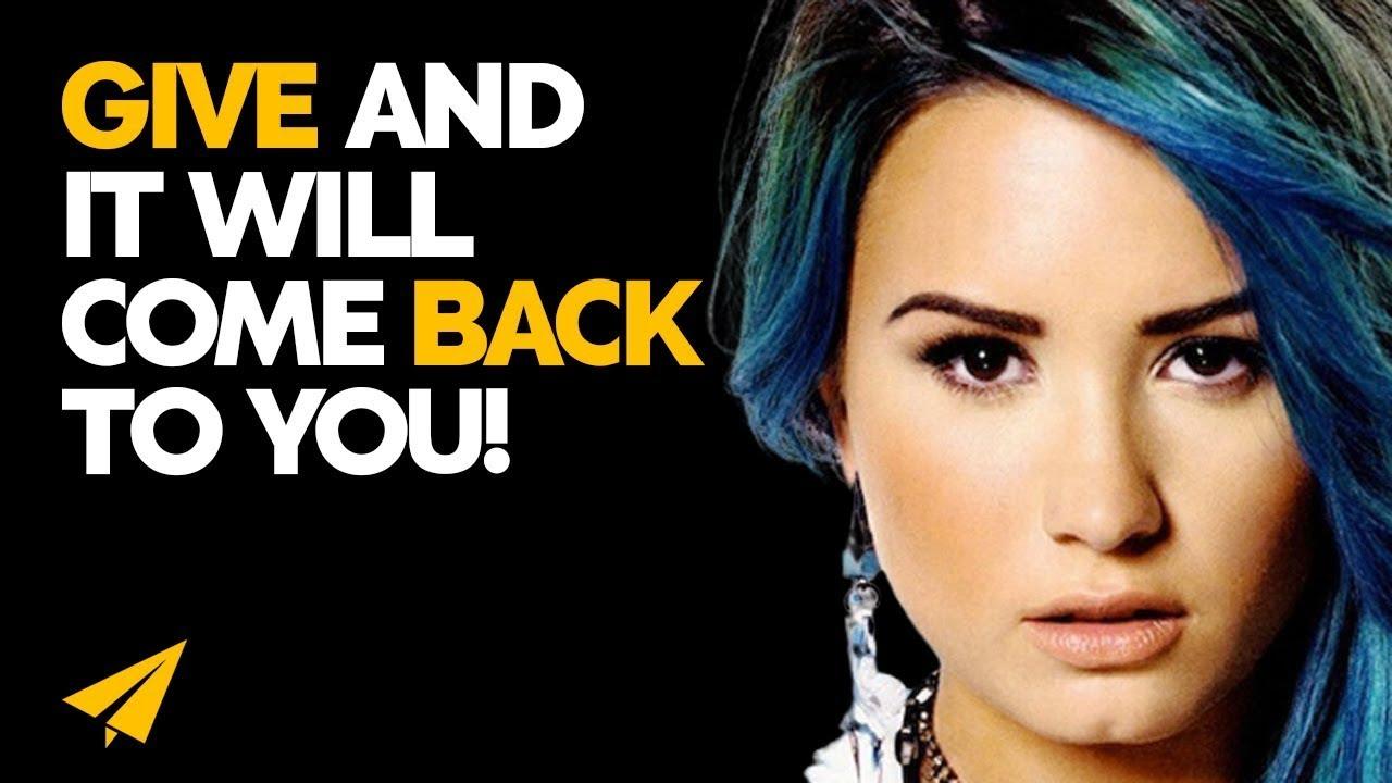Put Out POSITIVE Energy - Demi Lovato (@ddlovato) - #Entspresso