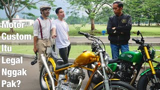 Video Ngobrolin Motor Kustom Sama Pak Presiden Jokowi MP3, 3GP, MP4, WEBM, AVI, FLV Februari 2019