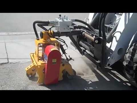 SMITH FS390 skid-attach Shaver, Planer, Scarifier for Fast Removal on Concrete and Asphalt