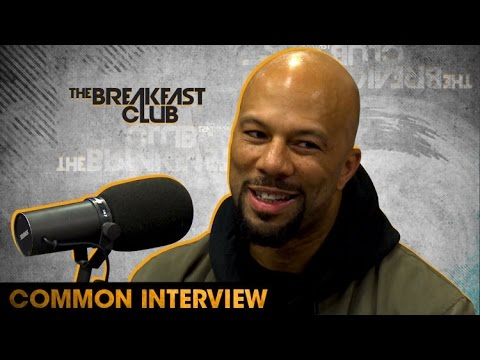 Common On New Album, Presidential Election and Being Cool With His Exes W/ The Breakfast Club