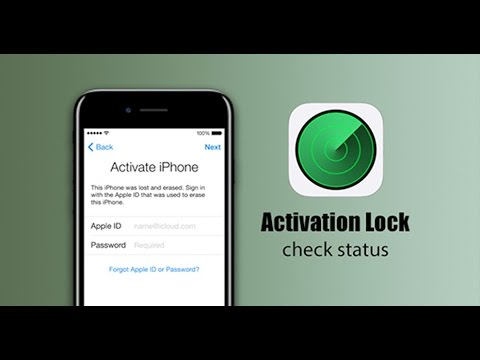 apple support check activation lock