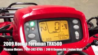 10. 2009 Honda Foreman TRX500