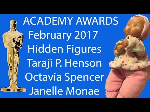 Academy Awards Oscar Best Picture 26th February 2017 Hidden Figures Taraji Theodore Janelle- Part 7