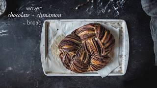 Woven Chocolate + Cinnamon Bread