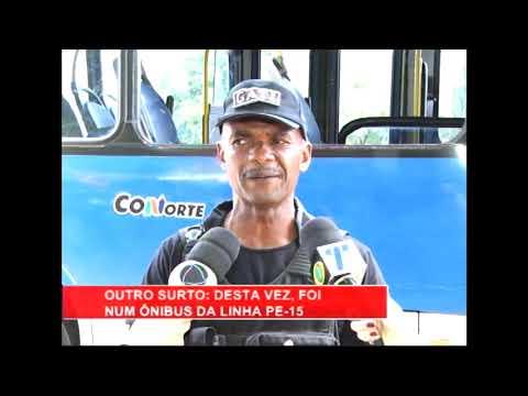[RONDA GERAL] Homem quebra janelas do BRT e agride motorista na PE-15