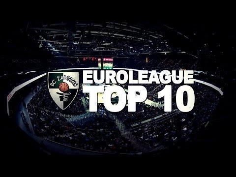 """Kauno """"Žalgirio"""" TOP-10 epizodų Eurolygoje"""